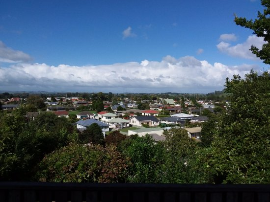 Otorohanga, New Zealand: View  from room 2