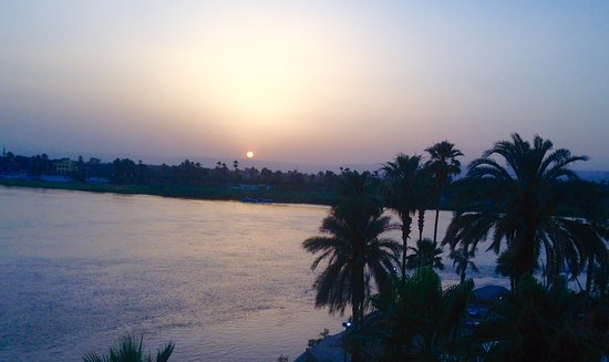 ACHTI Resort Luxor: Sunset over the Valley of the Kings