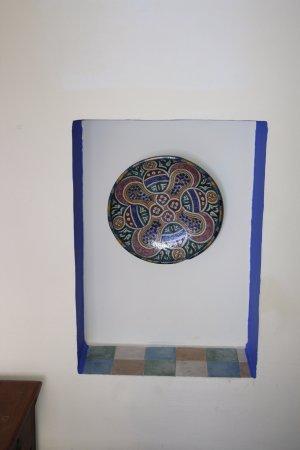 Hostal Guernika: Elemento decorativo.