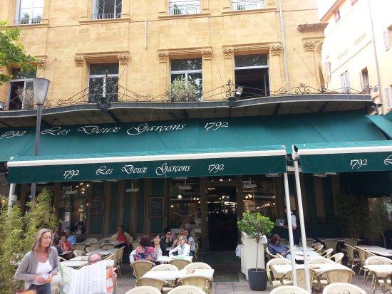 Les Deux Garcons : terrace