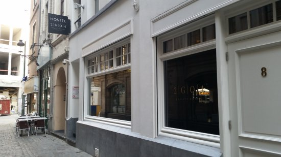 2Go4 Grand Place : Hostel/sleeping grounds location on Harengs/Haringstraat street