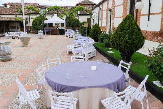 Terraza Al Aire Libre Espacio Salón De Actos Picture Of