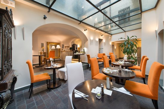 Breakfast room picture of design hotel neruda prague for Design hotel prague tripadvisor