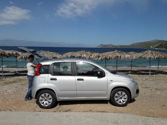 Kalamaria, Griekenland: Фиат Панда