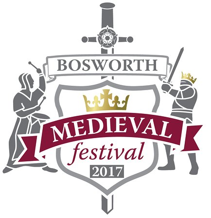 Sutton Cheney, UK: Bosworth Medieval Festival Crest