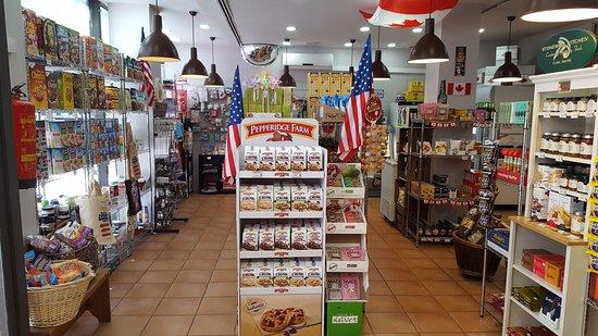 Taste of America: Vista interna del local