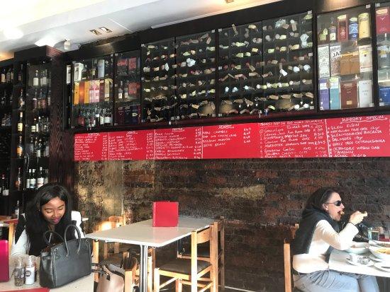 Bottega : The often-changing menu