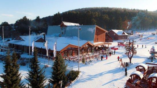 Valca, Słowacja: Krásny slnenčný zimný deň