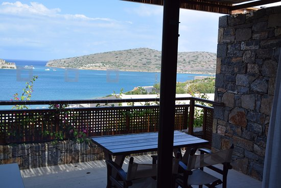 Blue Palace, a Luxury Collection Resort & Spa, Crete: Balcony & bay