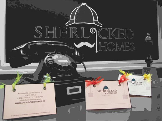 Sherlockedhomes - escape rooms
