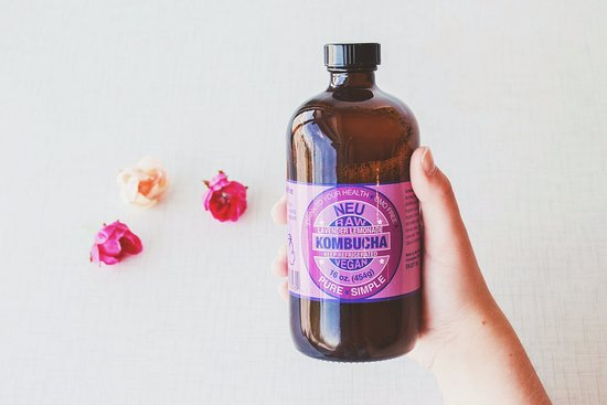 Grandville, MI: Summer Feature! Lavender Lemonade Kombucha