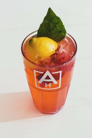 Grandville, MI: Summer Feature! Fresh Squeezed Strawberry-Basil Lemonade