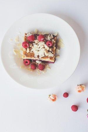 Grandville, MI: Summer Feature! Raspberry Swirl Shortcake