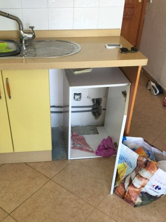 Apartamentos Montemar: Kitchen