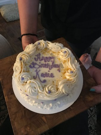 Gluten Free Chocolate Birthday Cake With Cookie Dough Filling
