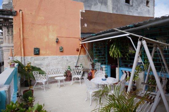 La Casa del Chef (Rolando y Marisol): terrasse