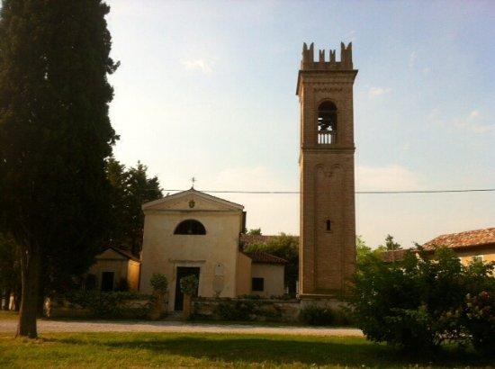 Chions, Italy: Vista dalla Torre Sbrojavacca .