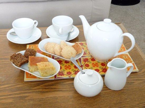 Dersingham, UK: Tea and cakes are essential.