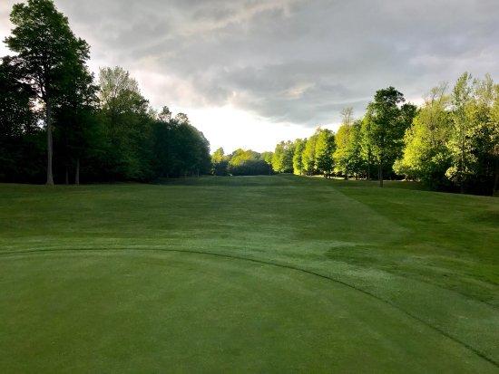Carthage, NY: May 28, 2017 round of golf.