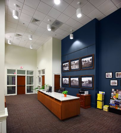 Gaffney, Carolina del Sur: Guest services desk