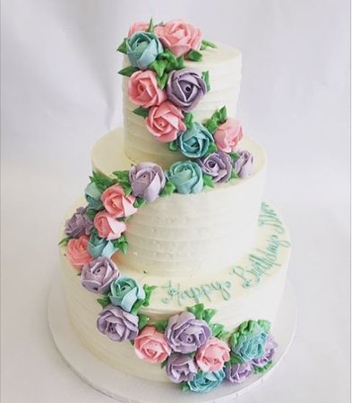 Simply Desserts Cascading Flowers