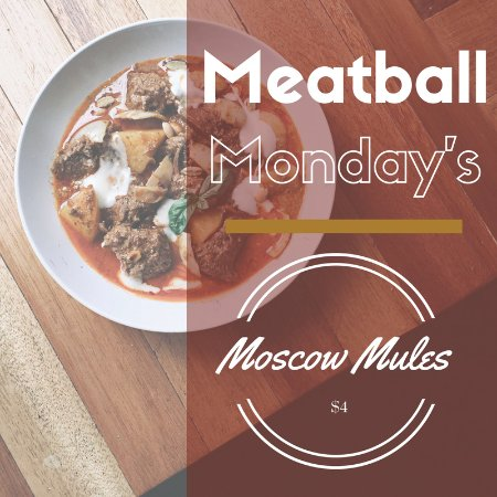 Goose Blind Grill & Bar : Meatball MONDAY