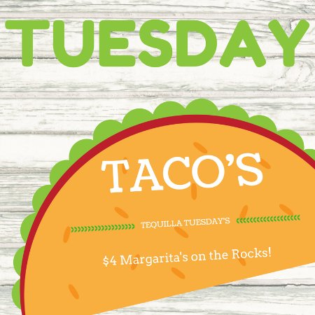 Goose Blind Grill & Bar: Taco TUESDAY