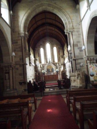 Grosmont, UK: The chancel.
