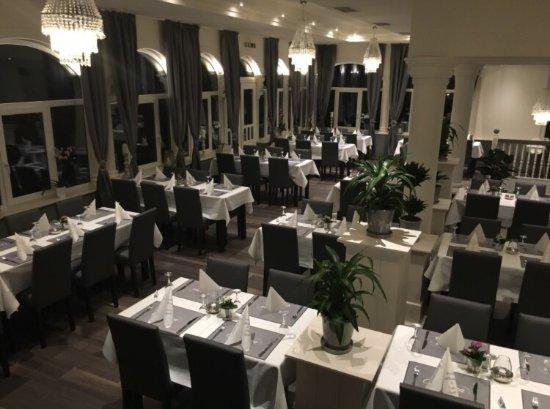 Wunderschone Terrasse Restaurant Charisma Wuppertal