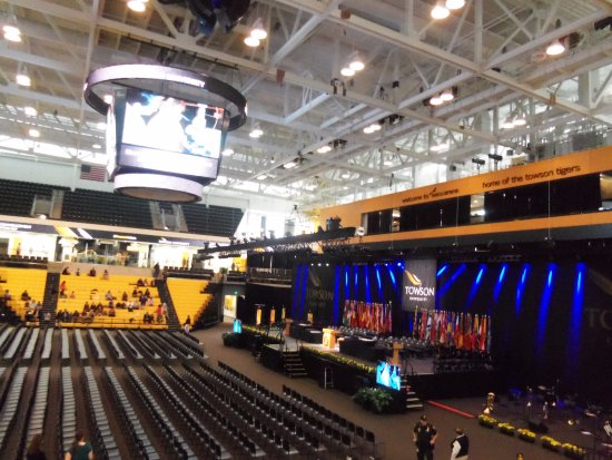 Ready for graduation ceremony at Towson University, College of Math and Science