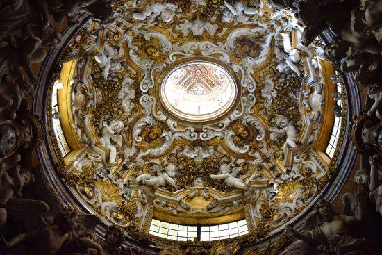 Basilica della Santissima Annunziata - Chiesa di Santa Maria della Scala: Volta