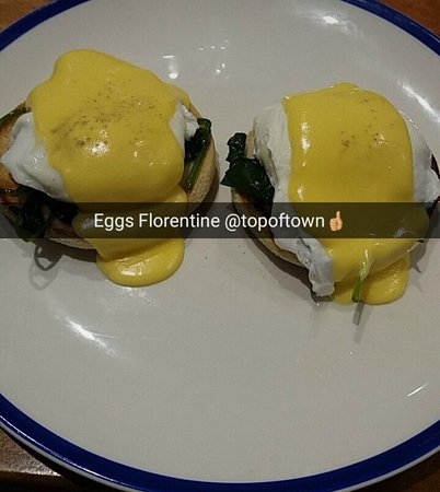 Superb Breakfast Menu best eggs florentine in Antrim  by far...........