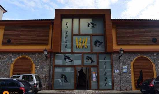 Belmonte de Miranda, Spagna: Centro de interpretación-Entrada