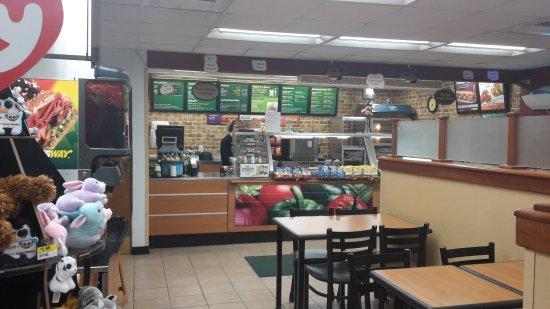 Whitefield, NH: Subway wf