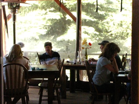 Rico, CO: patio dining