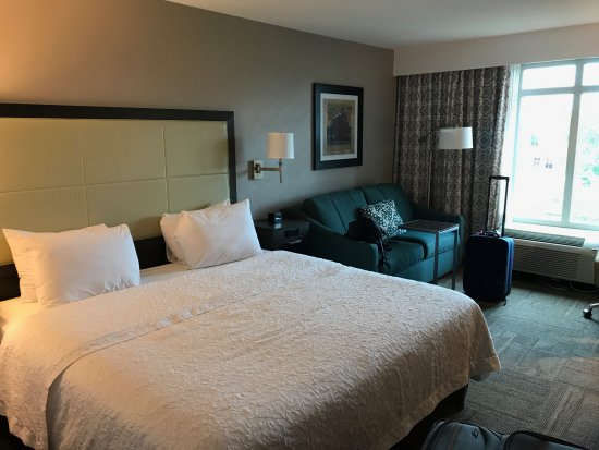 Hampton Inn Alexandria - Old Town/King Street Metro: Room with king size bed