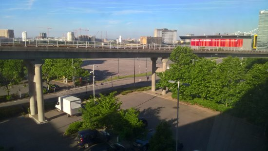 Premier Inn London Docklands (Excel) Hotel : You can see the Excel