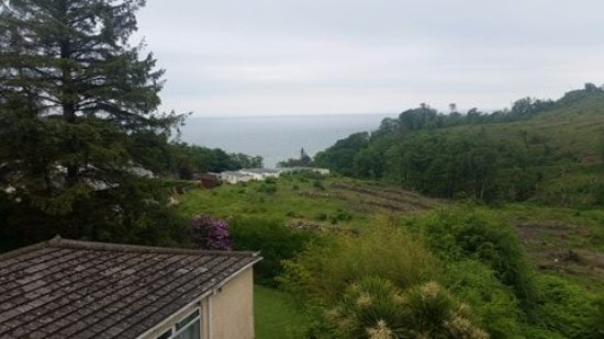 Cwmwennol Country House: View from our window