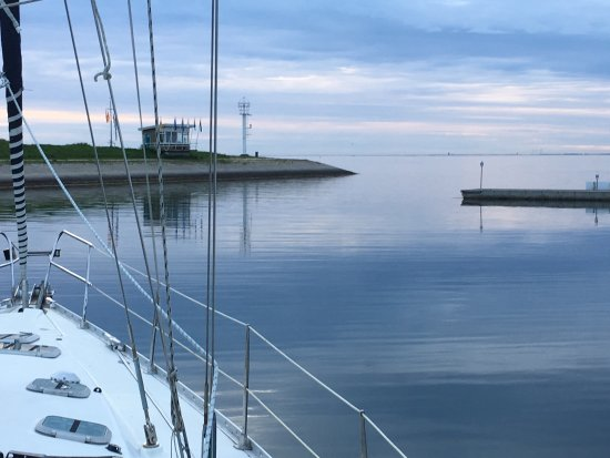 Beautifull Sailing Area. Marina Wemeldinge on the Eastern Scheldt