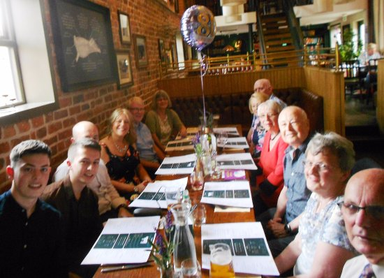 The Chester Fields : my 80th birthday lunch celebration for 12