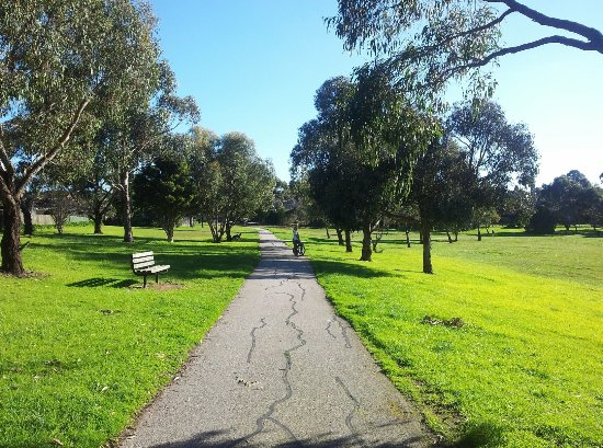 Glen Waverley, Australien: Dandenong Creek Trail
