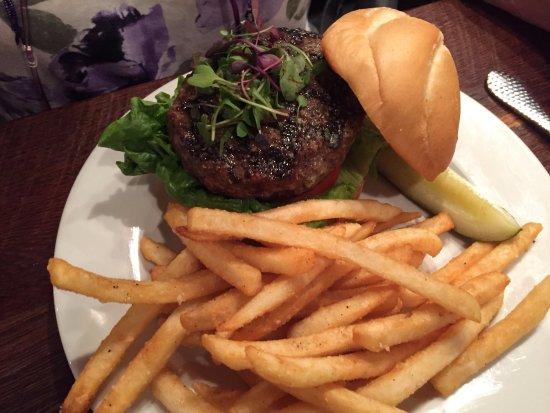 Leesburg, FL: Burger fries