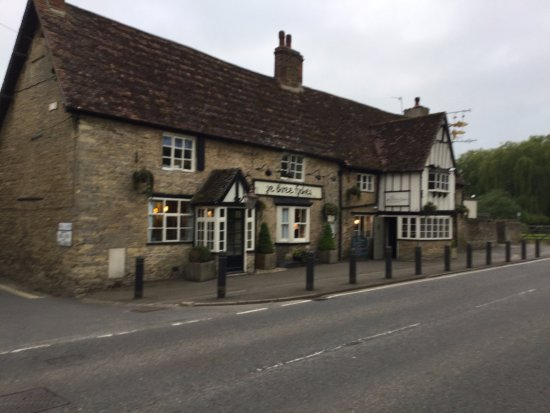 Turvey, UK: Front of the pub