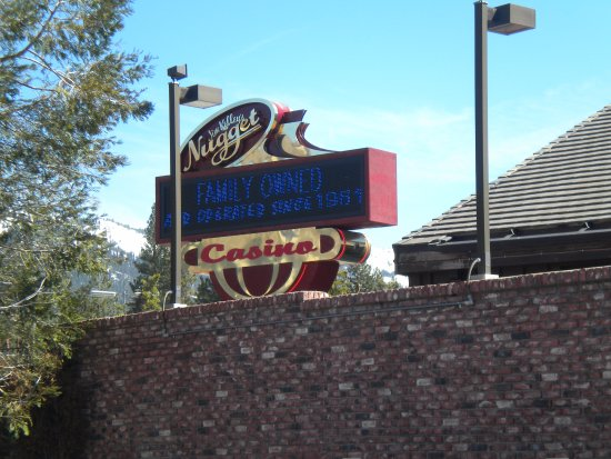 Crystal Bay, NV : Sign Outside Of The Casino
