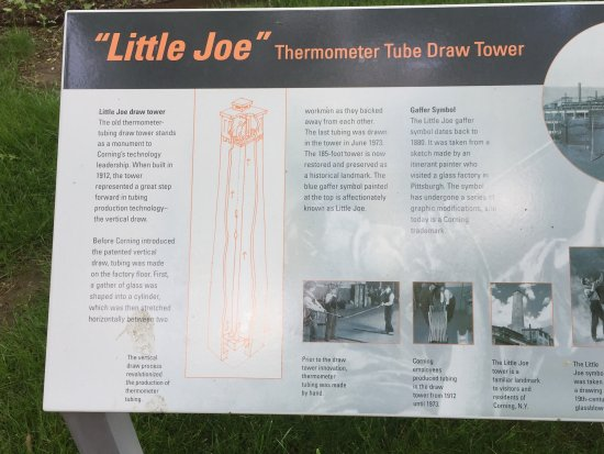 Corning, Nova York: Little Joe Tower