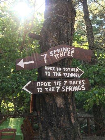 Επτά Πηγές: Bra avbräck i solsemestern. Men ha inte allt för höga förväntningar