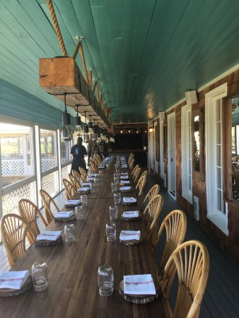 Bay Fortune, Canada: Feast Tables