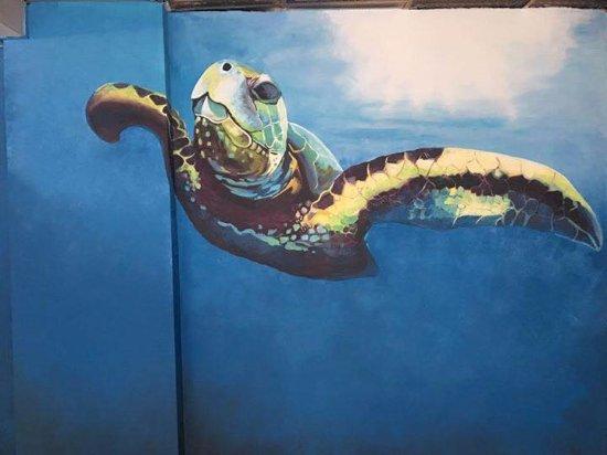 Boa Vista Coffee Co: Sea Turtle Wall Art