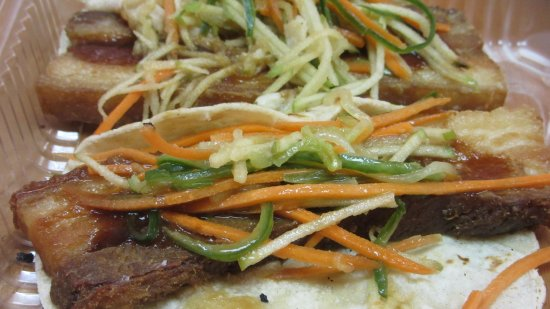 On The Town Food Tours: Pork Bell Taco is just one of the many things you'll get to sample in Mount Holly.