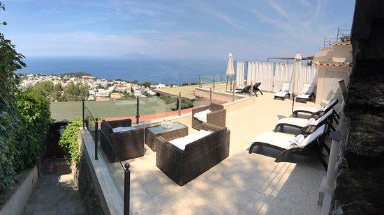 Monte Solaro: Relax Area